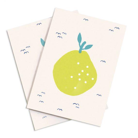 Notizheft Früchte