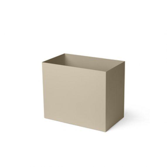 fermLiving Plant Box Pot cashmere