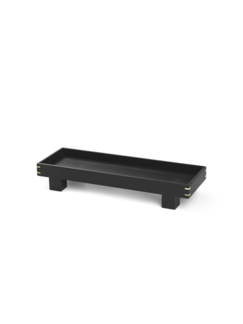 fermLiving tray tablett schwarz bon wooden livland.
